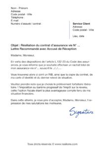 lettre de résiliation assurance vie caisse d'épargne
