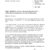 lettre de résiliation abonnement internet internet décès